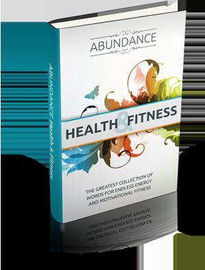 health and fitness ebook, abundance