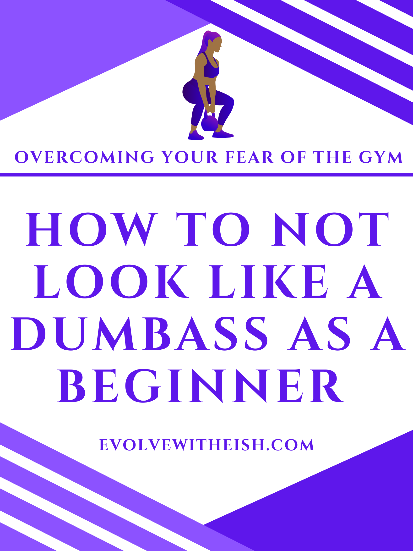 fear of going to the gym, beginner